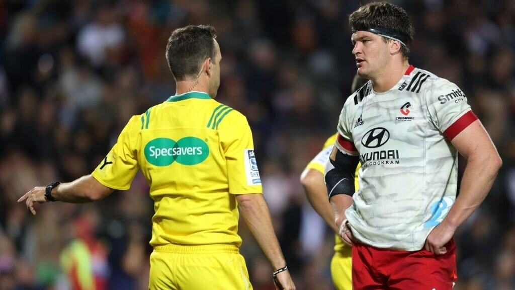 Crusaders' spirit questioned after late captain's referral