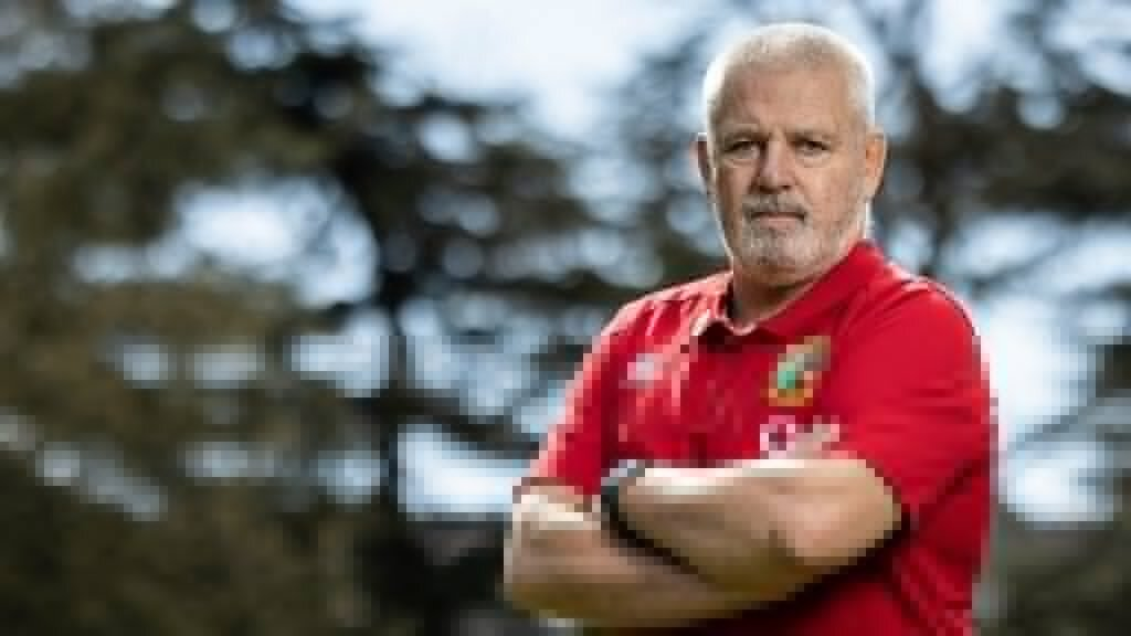 Gatland reveals his coaching bolters