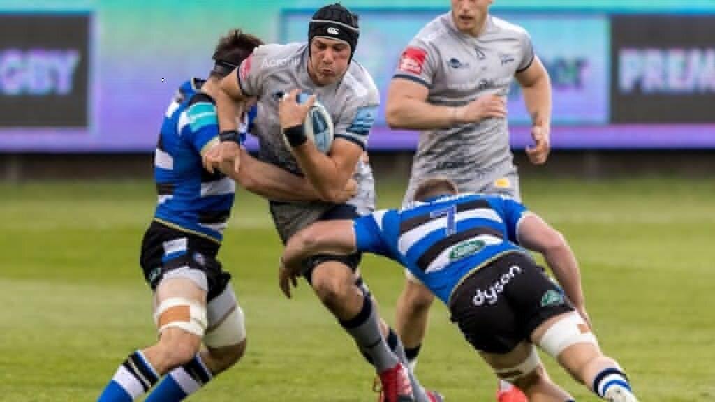JP du Preez scores as Sale see off Bath