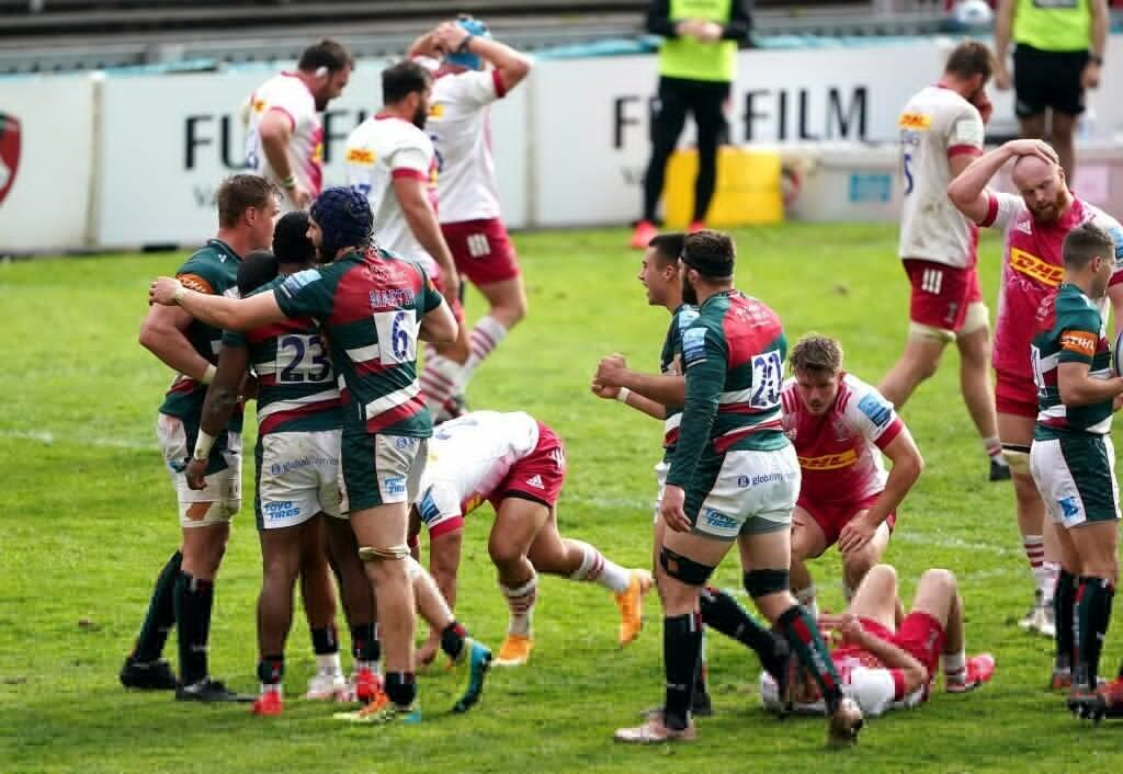 Genge double helps Leicester see off Harlequins