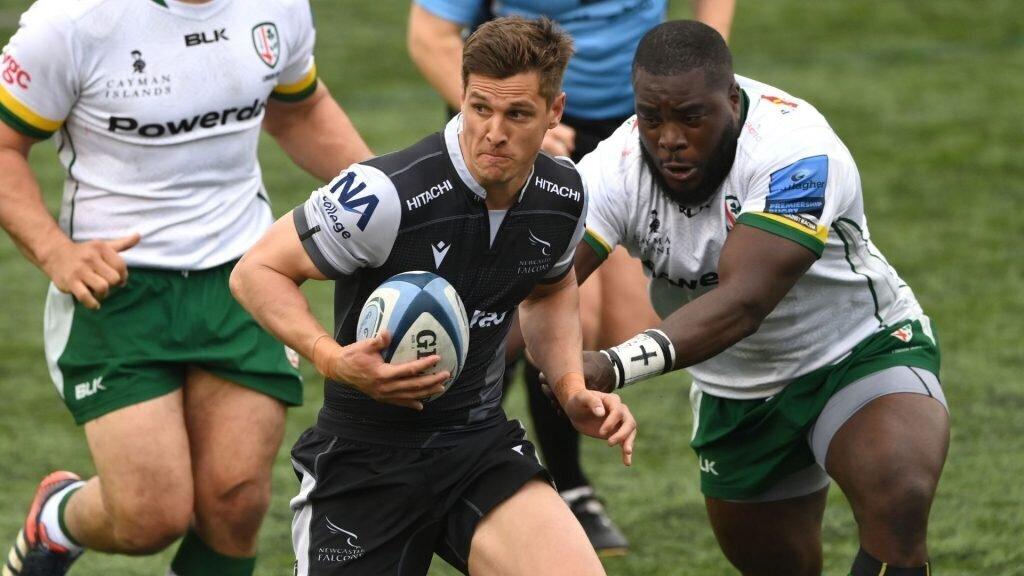 Schreuder helps Newcastle maul London Irish