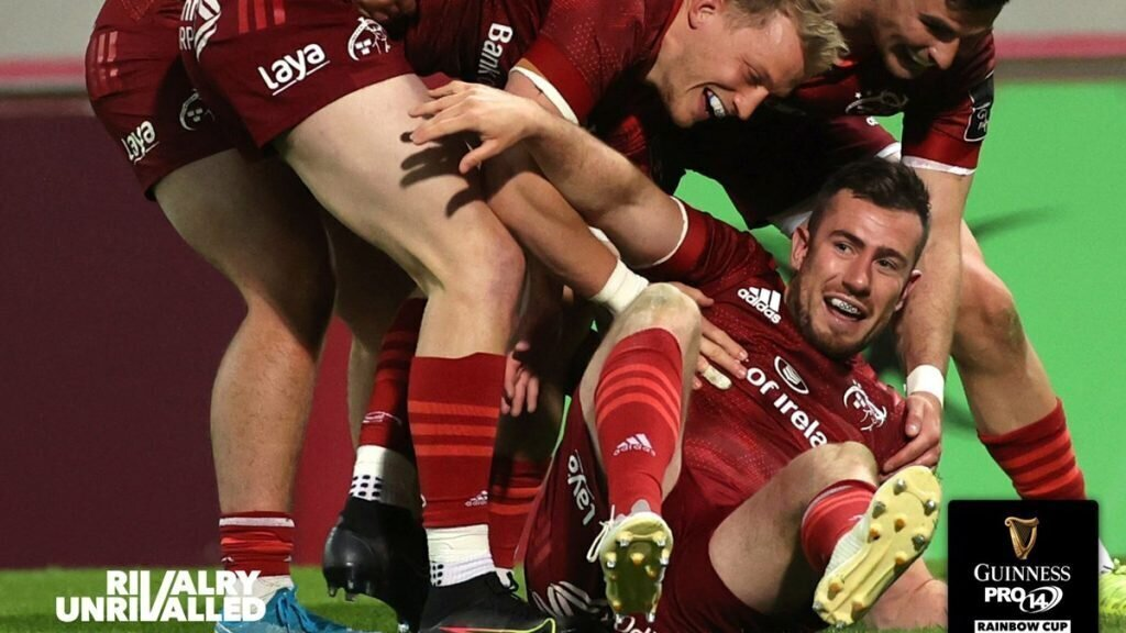 Munster's Lions maul hapless Ulster