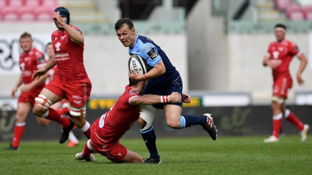 Cardiff Blues hang on to beat Scarlets