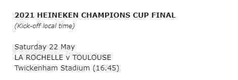 La Rochelle set up all-French final