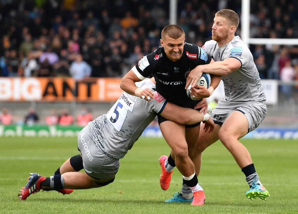 Exeter Chiefs end Sale Sharks' final hopes