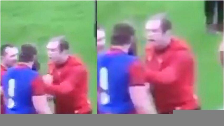 Alun Wyn Jones versus Jake Ball