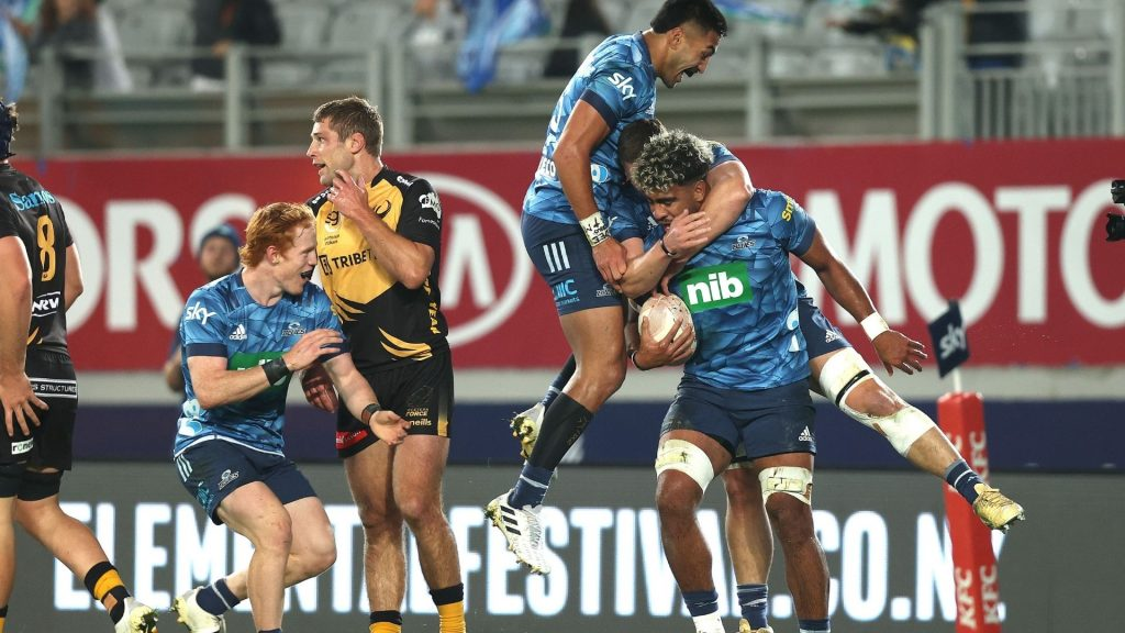 Blues book home Super Rugby Trans-Tasman final