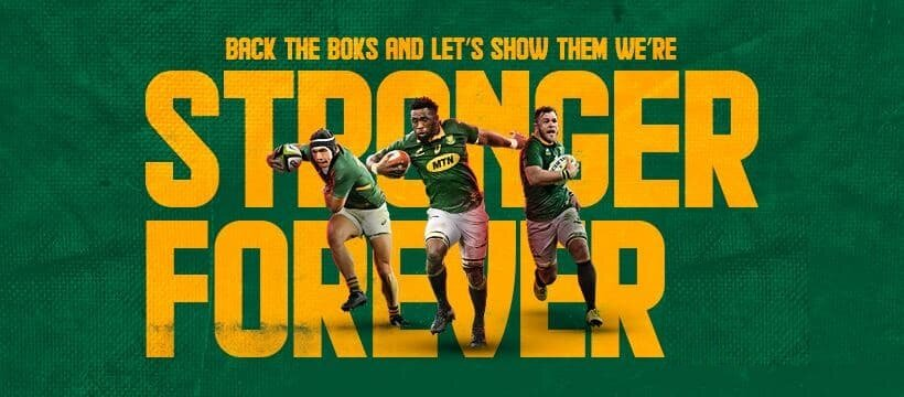 Boks' special welcome: 'Yes, ma se kinders'