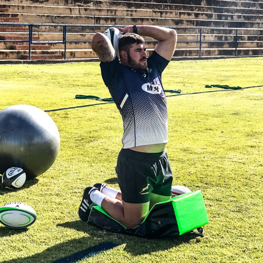 VIDEO: Boks' first training session in Bloem