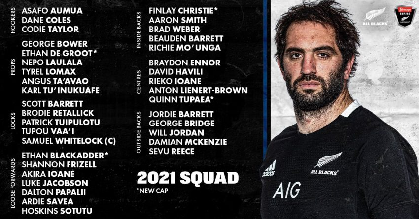 All Blacks get a new captain