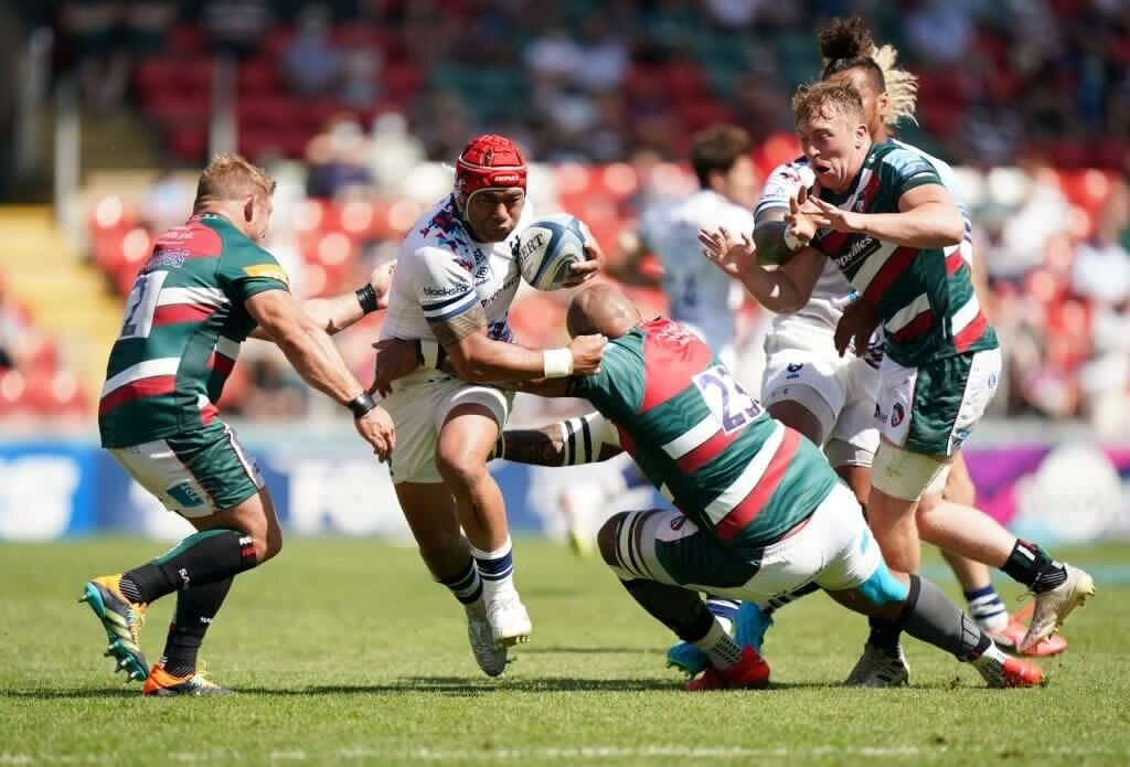 Bristol edge Leicester to secure home semifinal
