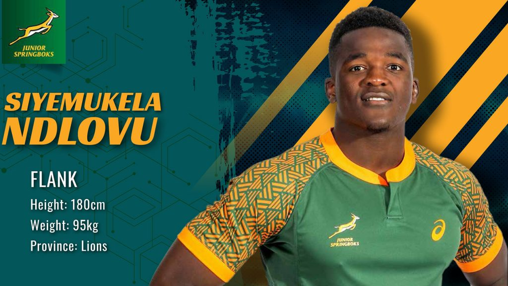 Baby Boks get a new captain