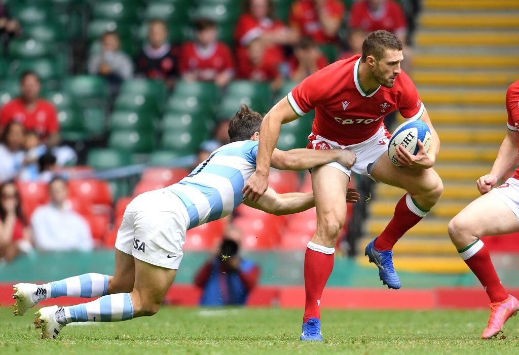 Fourteen-man Argentina hold off Wales