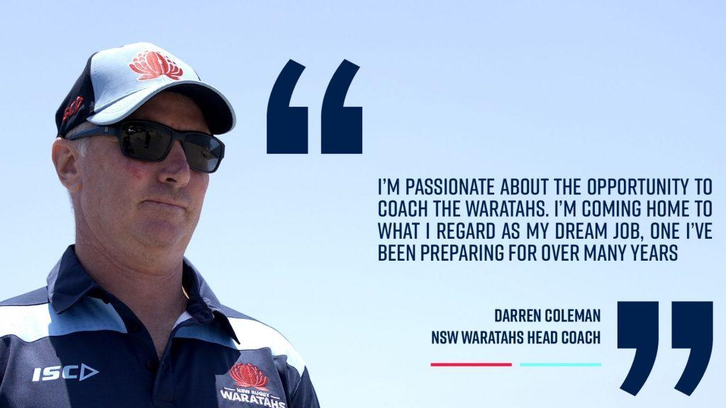 Waratahs reveal their new head coach