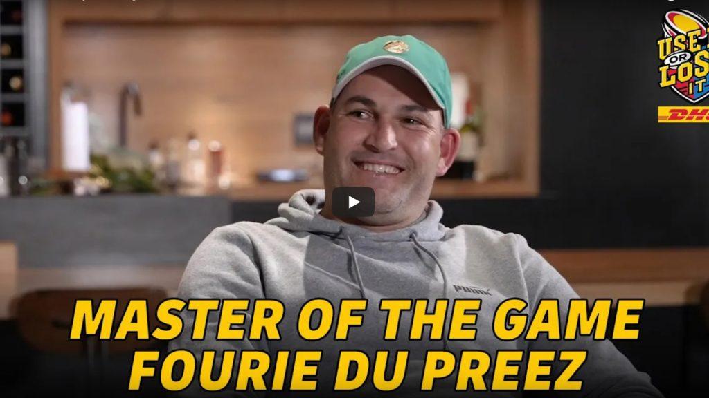 VIDEO: Fourie du Preez - the man, the myth, the legend