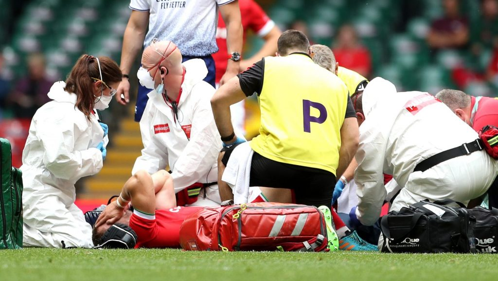 Injury mars Wales' win over Canada