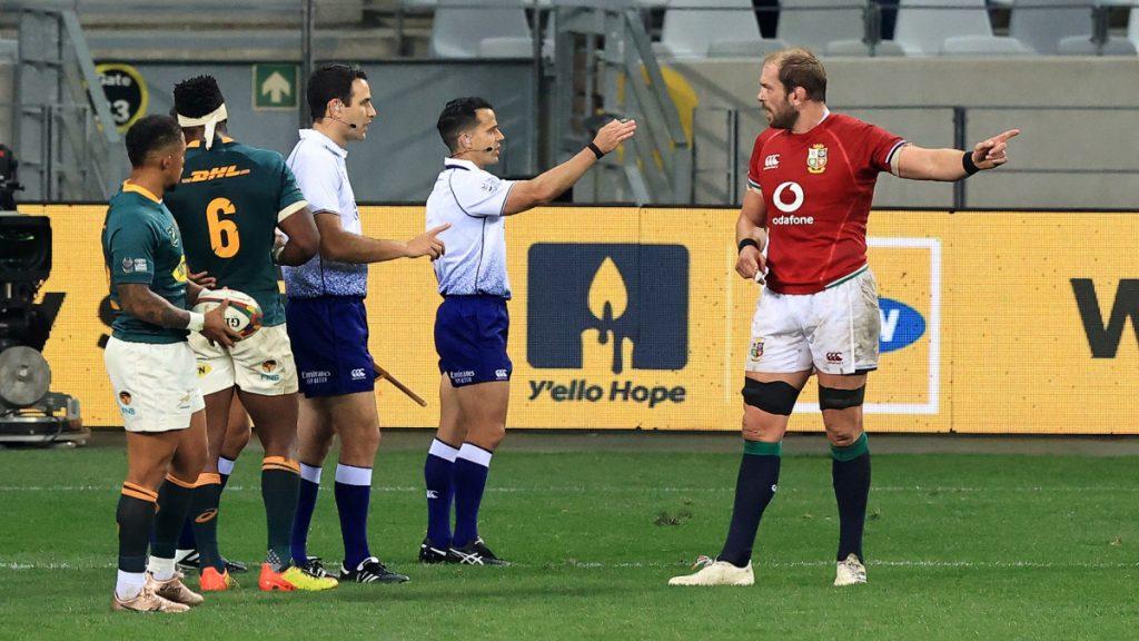 B&I Lions skipper responds to 'passionate' Rassie rant