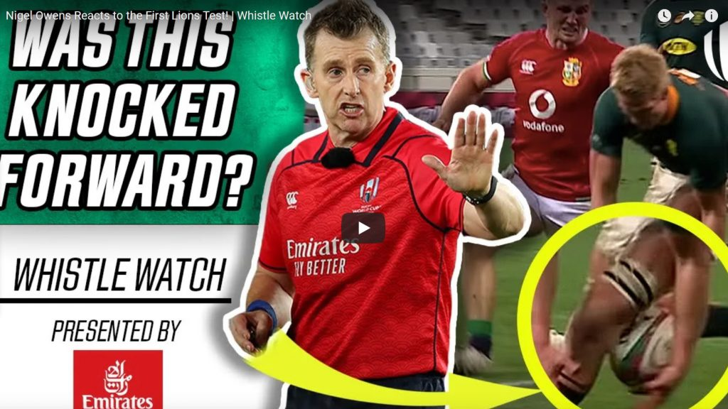 Ref watch: Nigel Owens tackles the first Test