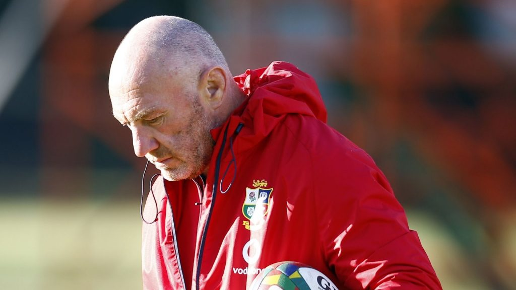Rassie video 'just a sideshow' says B&I Lions coach