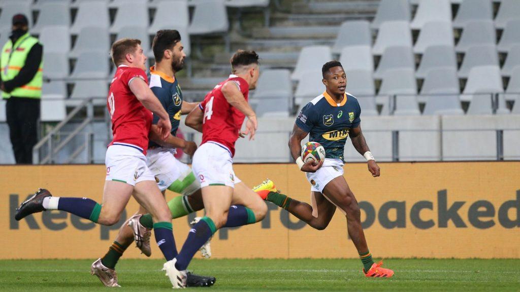 SA 'A' beat B&I Lions despite two yellow cards