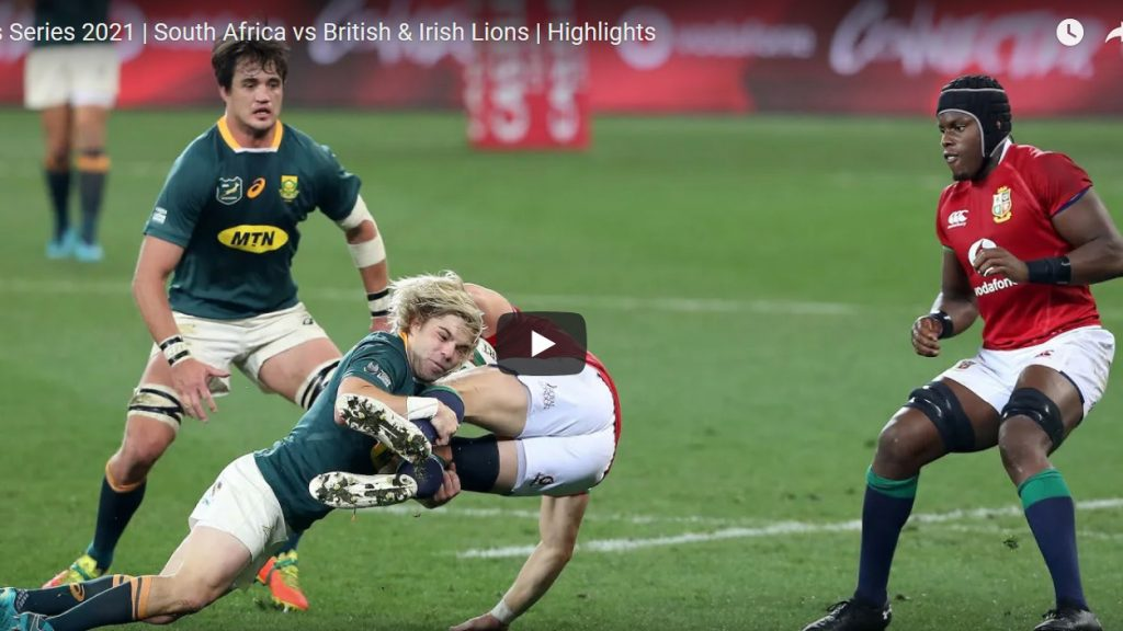 Highlights: South Africa v B&I Lions - First Test