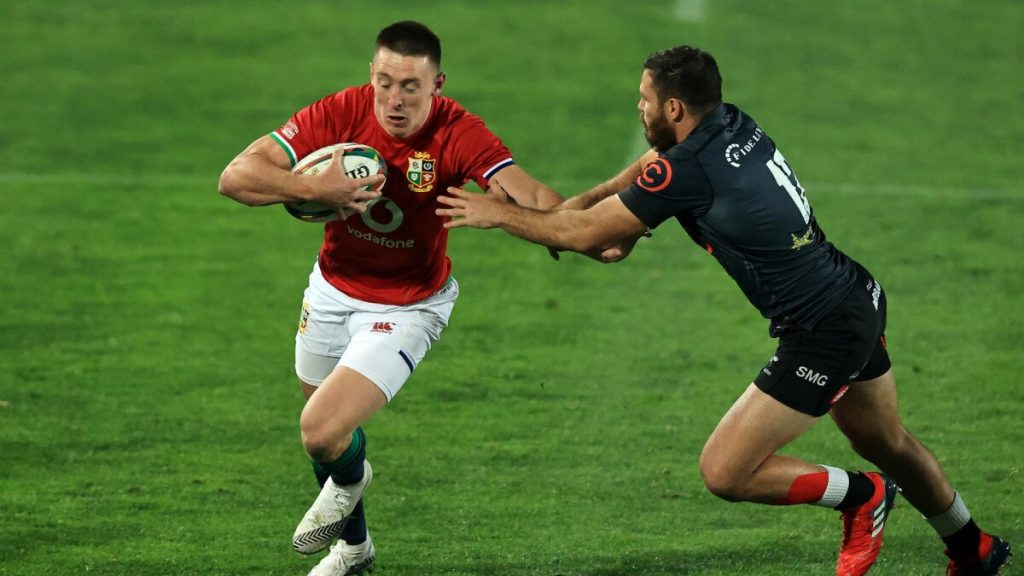 South African flyer scores hat-trick in B&I Lions rout