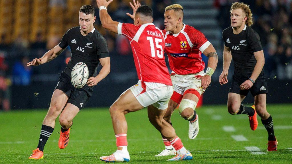 All Blacks put a ton past hapless Tonga