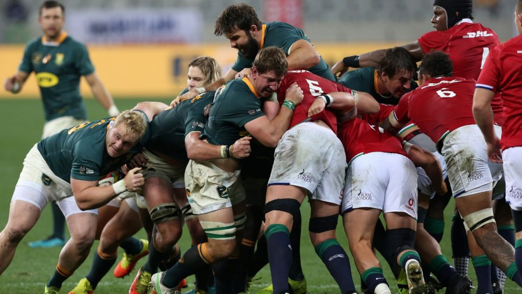 Boks' 'bomb squad' proved too much for B&I Lions
