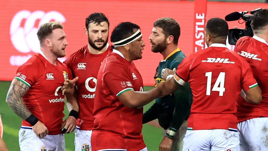 B&I Lions' stars accused of foul play in second Test