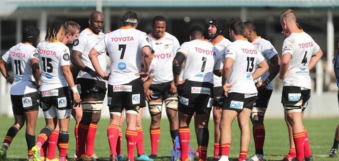Ten changes for bottom-placed Cheetahs