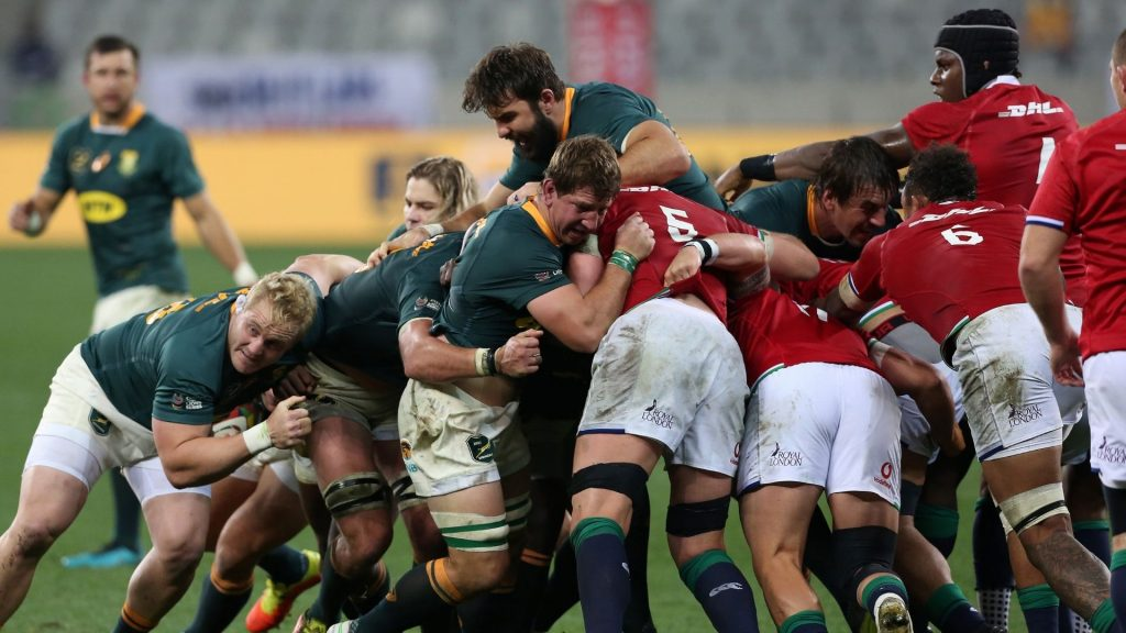 Why it was 'personal' for the Boks