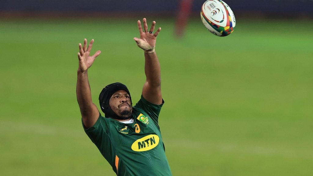 Nienaber makes three changes to Boks' matchday squad