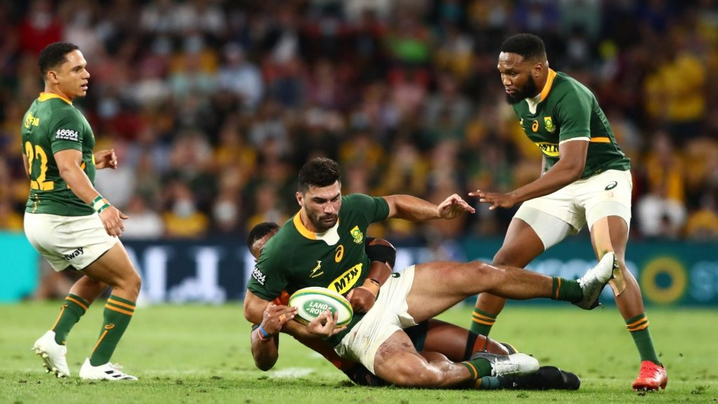 Davids defends Bok players after Laurie's scathing critique