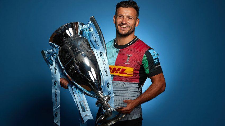 Danny Care Harlequins Premiership Trophy