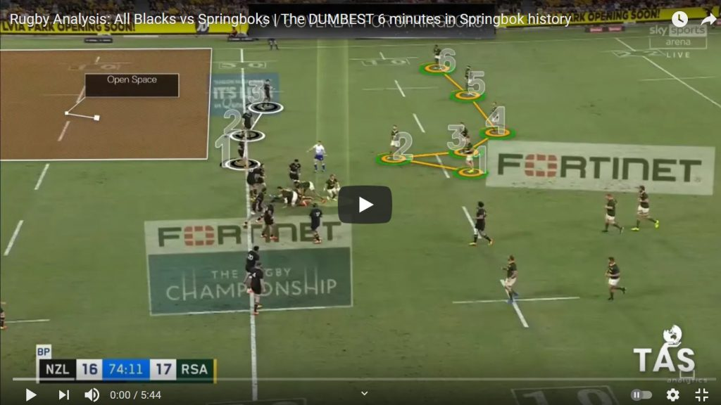 VIDEO: Brain dead Bok game plan