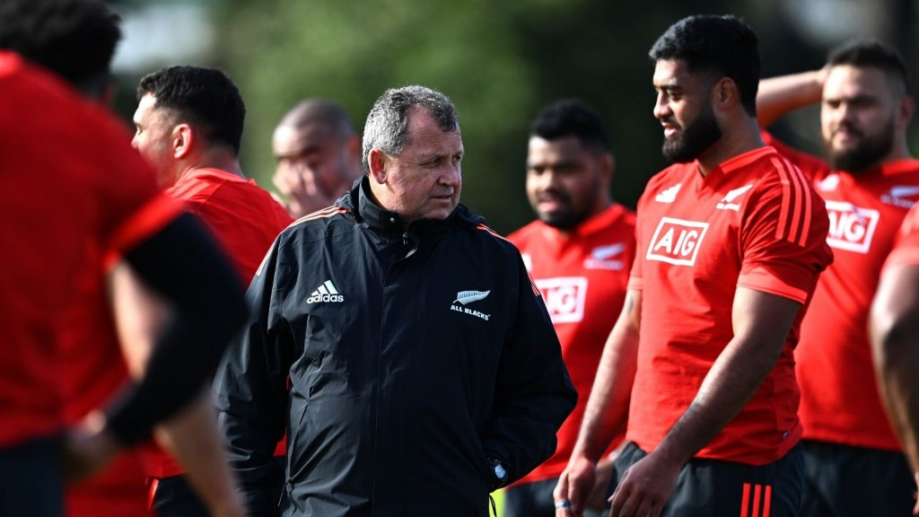 All Blacks coach opens up on tough selection calls