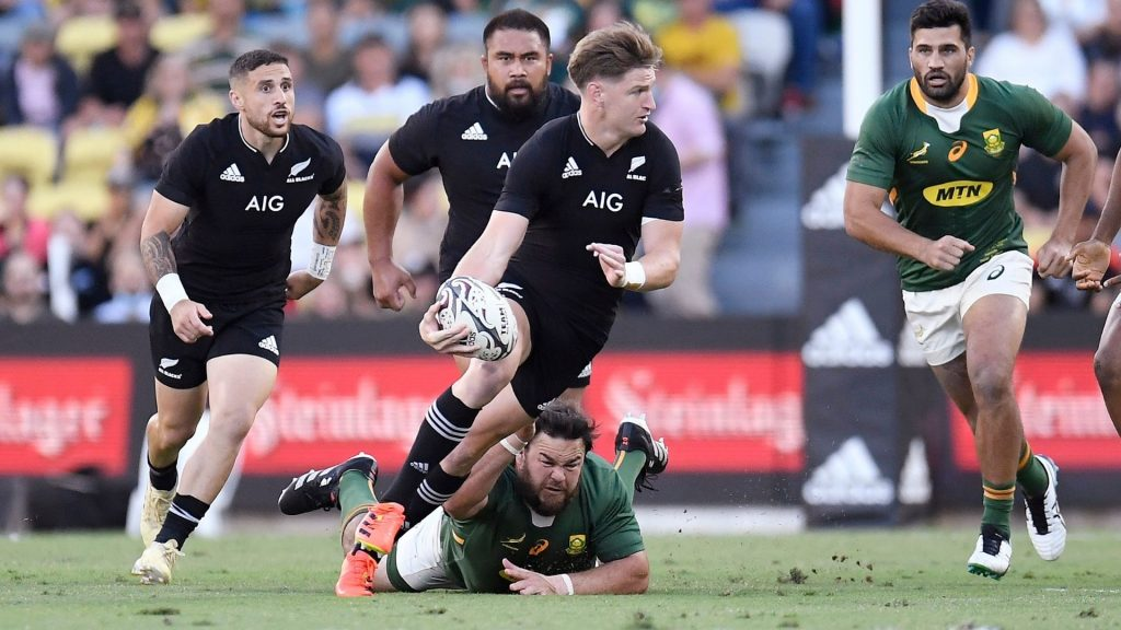 All Blacks edge Boks to claim Rugby Champs title