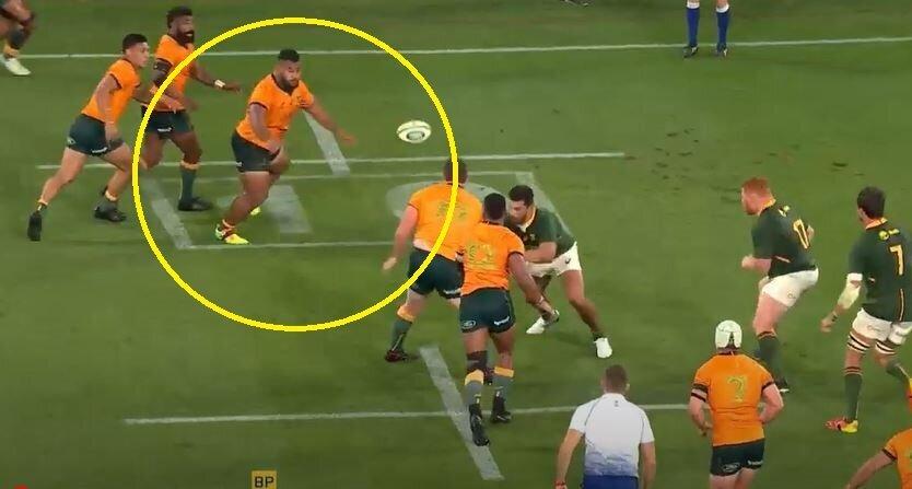 VIDEO: How Tupou stunned Springboks' defence