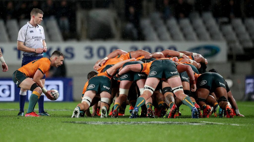 The South African that fixed the Wallaby scrum