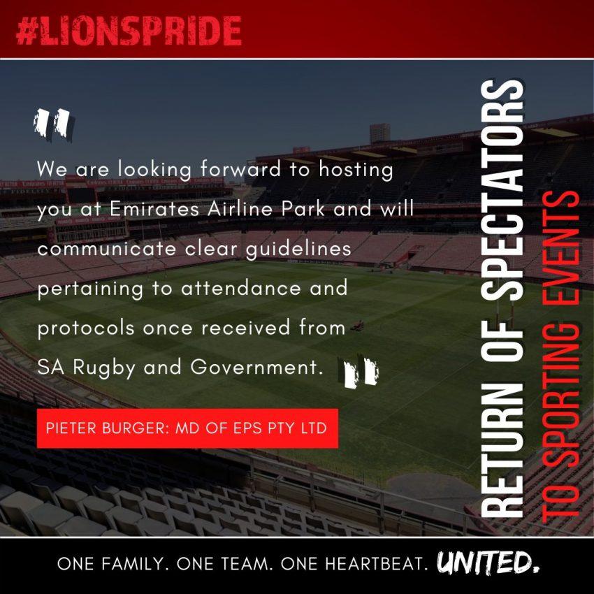 Lions statement
