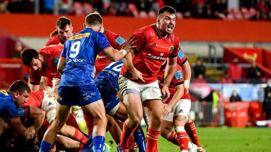Stormers lock cited for alleged bite on Munster hooker