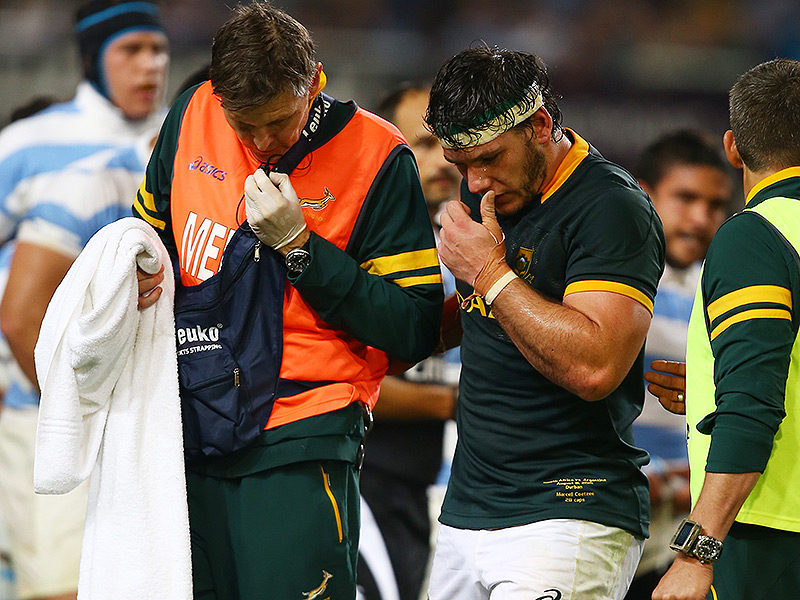 Another Bok heads home for surgery