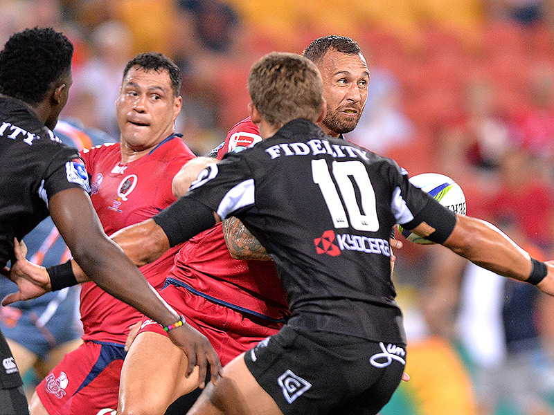 Reds come from behind to edge Sharks