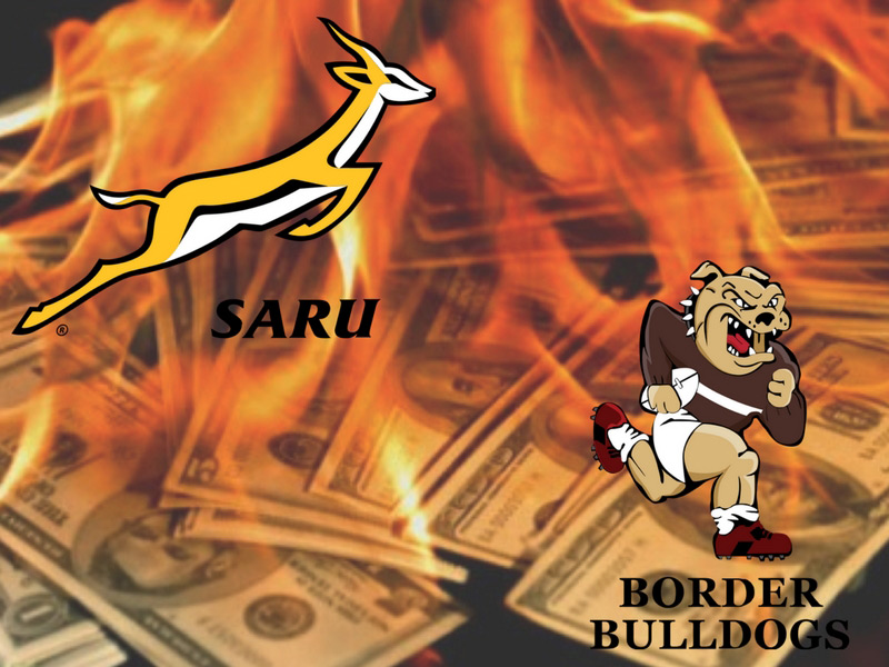 Another union bankrupt as SARU reports a loss ... again