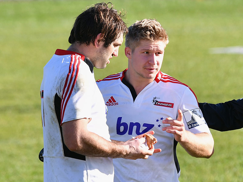 Crusaders pack All Black power for Lions clash