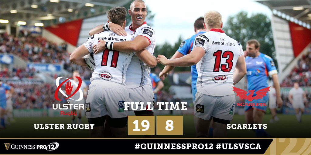 Ludik lifts Ulster to the top