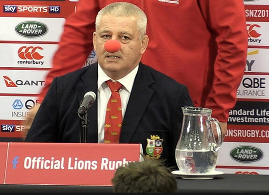 No Gatland-and-Hansen war of words sequel