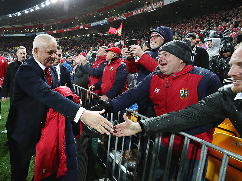 Lions have 'poked the bear' says Gatland