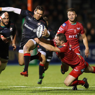 Saracens too strong for Scarlets